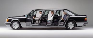 Mercedes-Benz Limousine der Baureihe 124