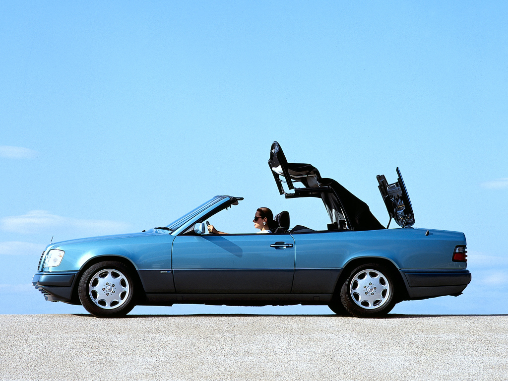 mercedes benz w124 e220 cabriolet 7 ran when parked. Black Bedroom Furniture Sets. Home Design Ideas