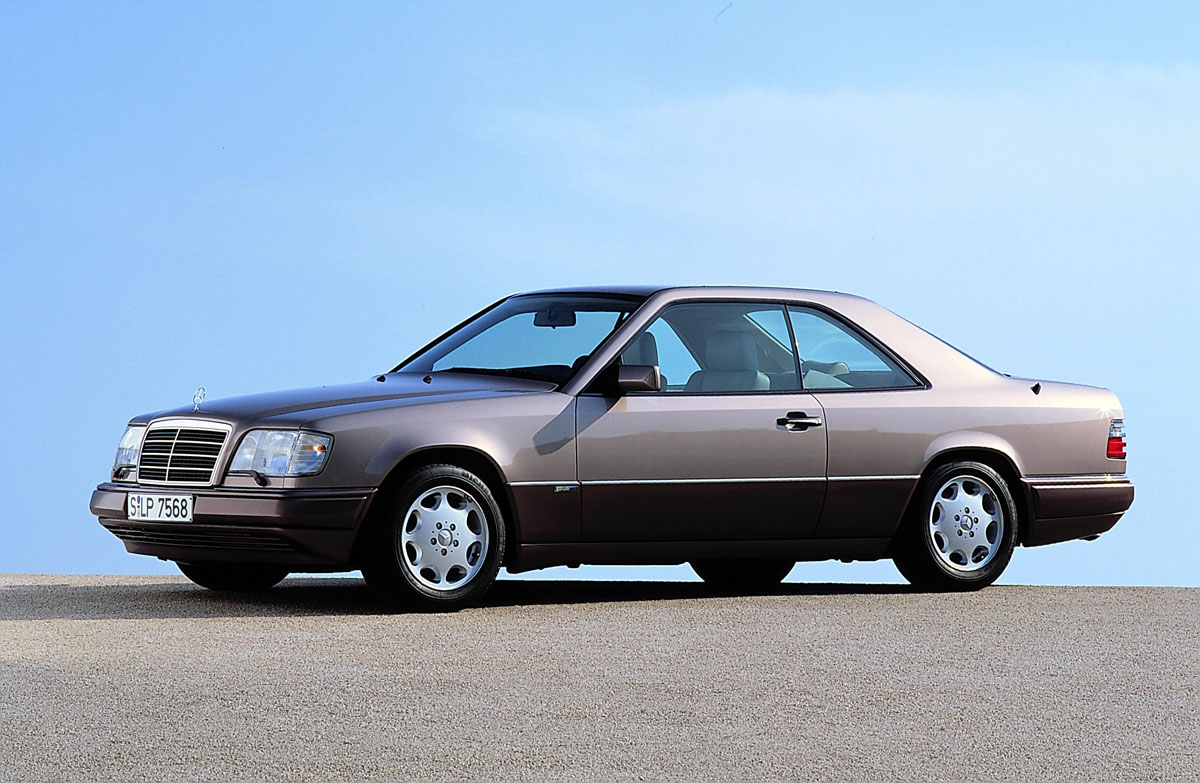 Mercedes W124 Coupe Facelift 1 Ran When Parked