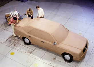 Mercedes-Benz Limousine der Baureihe 124, Design-Entwicklung