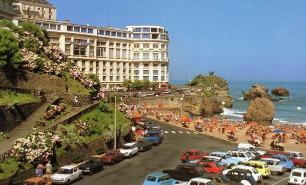 rewind to biarritz france in the late 1970s ran when parked. Black Bedroom Furniture Sets. Home Design Ideas