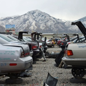 Rust in peace: Ran When Parked visits Salt Lake City's self-servicejunkyards
