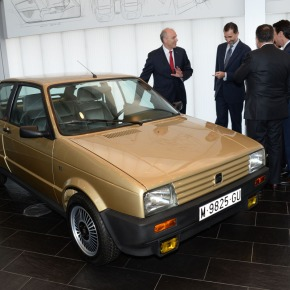 SEAT restores the Spanish King's first car, a custom-built 1986 Ibiza SXI