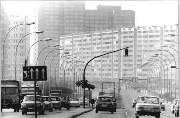 Berlin, Leninallee Kreuzung Ho-Chi-Minh-Straße