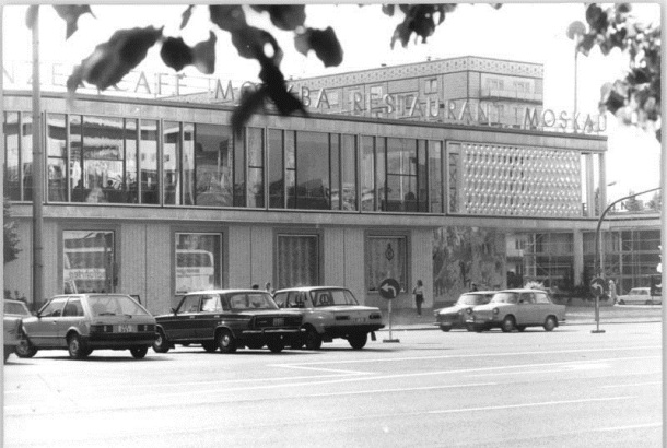 """Berlin, Karl-Marx-Allee, Restaurant """"Moskau"""""""