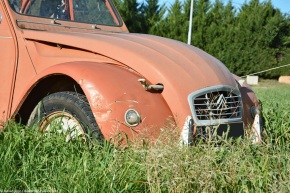Rust in peace: Citroën 2CV6Spécial