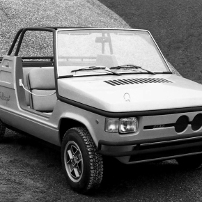 A look at the Bertone-designed 1974 Fiat 127 Village concept