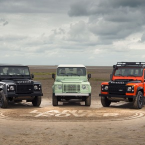 Land Rover to send off Defender with three limited-edition models