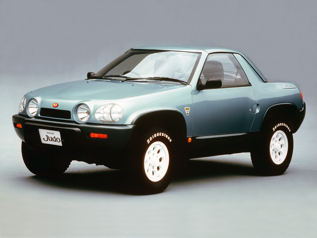 A Look At The 1987 Nissan Judo Concept Ran When Parked