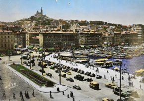 Rewind to Marseilles, France,  in the1950s