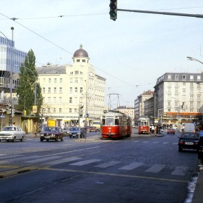 Rewind to Vienna, Austria, in the early 1980s