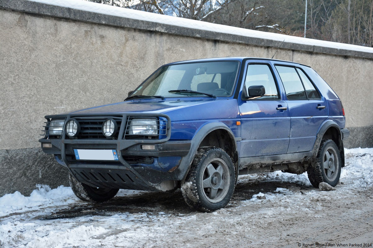 Driven Daily Volkswagen Golf Country Ran When Parked