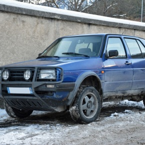 Driven daily: Volkswagen Golf Country