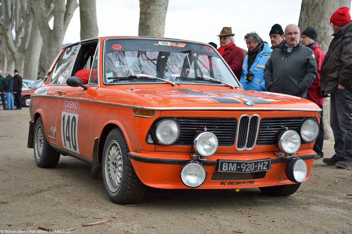 2015 historic monte carlo rally ranwhenparked bmw 2002 touring 1 ran when parked. Black Bedroom Furniture Sets. Home Design Ideas
