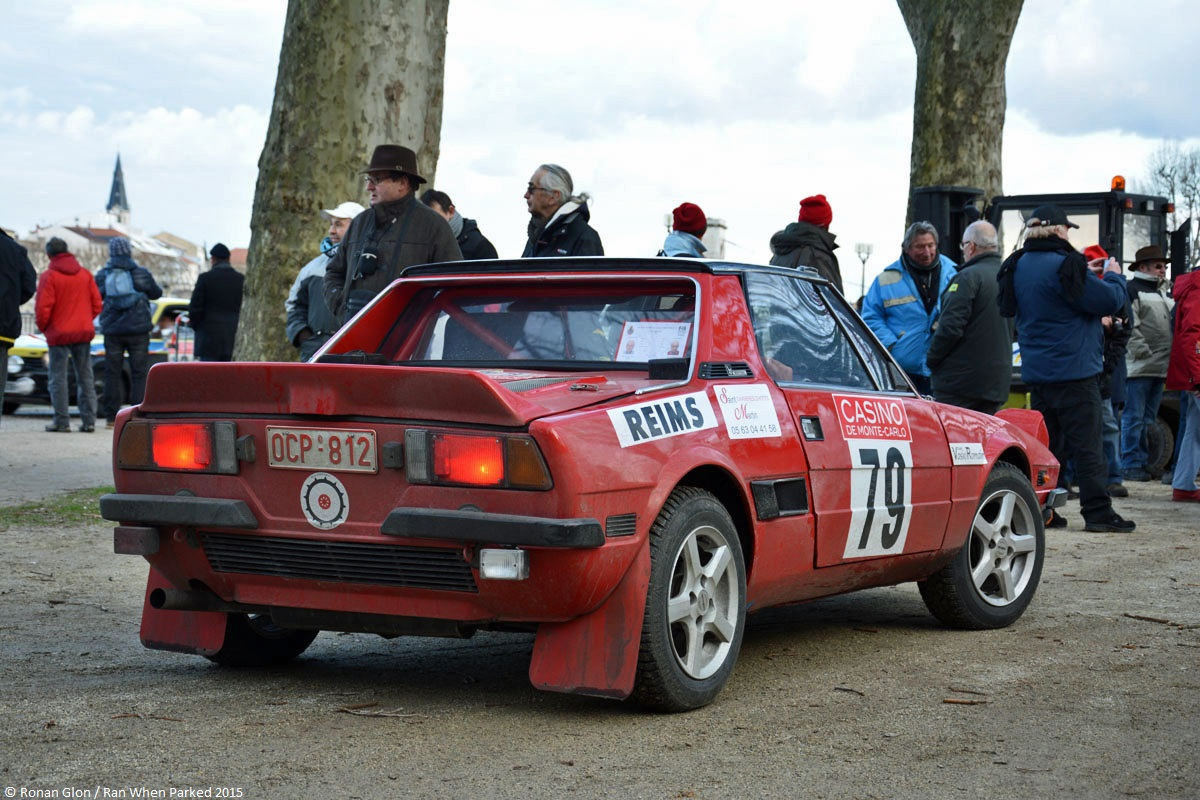 2015 historic monte carlo rally ranwhenparked fiat x19 3 ran when parked. Black Bedroom Furniture Sets. Home Design Ideas