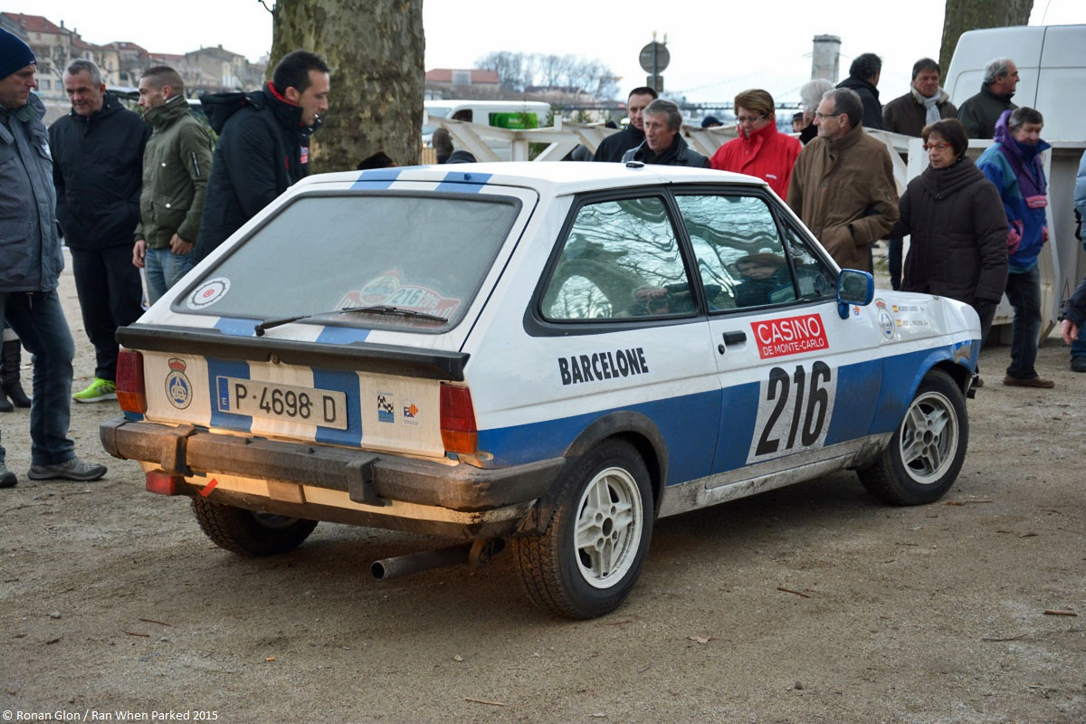 2015 Historic Monte Carlo Rally Ranwhenparked Ford Fiesta