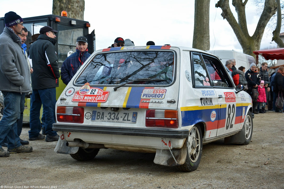 2015 historic monte carlo rally ranwhenparked peugeot 104 zs 2 ran when parked. Black Bedroom Furniture Sets. Home Design Ideas