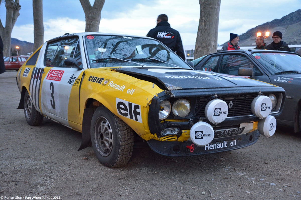 2015 historic monte carlo rally ranwhenparked renault 17 gordini 3 ran when parked. Black Bedroom Furniture Sets. Home Design Ideas