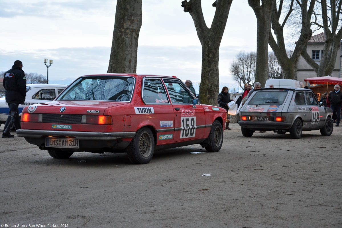 2015 historic monte carlo rally ranwhenparked view fiat 127 bmw e21 1 ran when parked. Black Bedroom Furniture Sets. Home Design Ideas