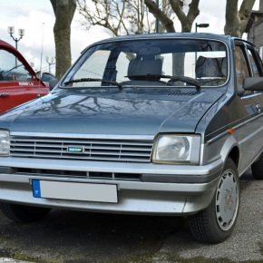 Endangered species: Austin Metro Vanden Plas