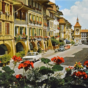 Rewind to Murten, Switzerland, in the middle of the 1960s