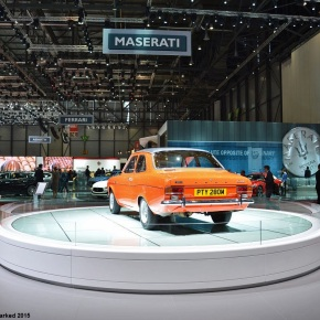 Live from the Geneva Motor Show: Ford Escort RS Mexico