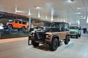 Live from the Geneva Motor Show: Land Rover's limited-editionDefenders