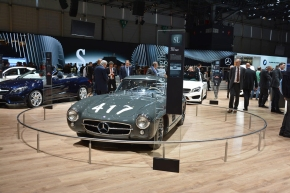 Live from the Geneva Motor Show: 1955 Mercedes-Benz 300SL