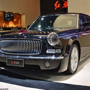 Live from the Shanghai Motor Show: The Hongqi L5, China's only retro-styled sedan