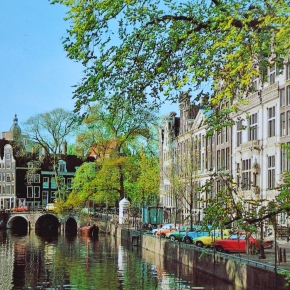 Rewind to Amsterdam, Holland, in the 1960s and the 1980s