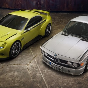 BMW introduces the retro-inspired 3.0 CSL Homage concept
