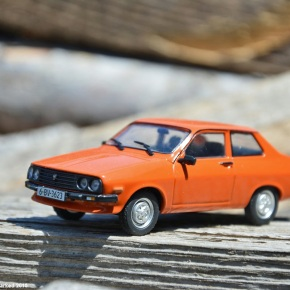 Scaled down: DeAgostini's 1/43-scale Dacia 1410 Sport