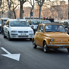 Ran When Parked visits Rome, Italy