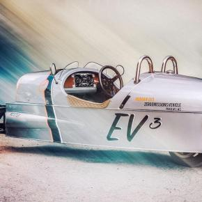 News: Morgan Motors' 3 Wheeler will go electric at Goodwood