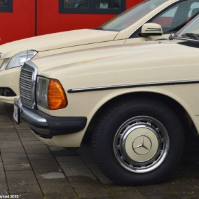 Car lot find: Mercedes-Benz 220D (w123) taxi