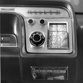 Ford highlights its very first navigation system, the 1964 position indicator