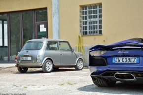 The common heritage between a 700-hp Lamborghini and a humble Mini