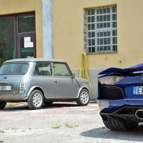 The common heritage between a 700-hp Lamborghini and a humbleMini