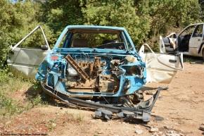 Rust in peace: Peugeot205