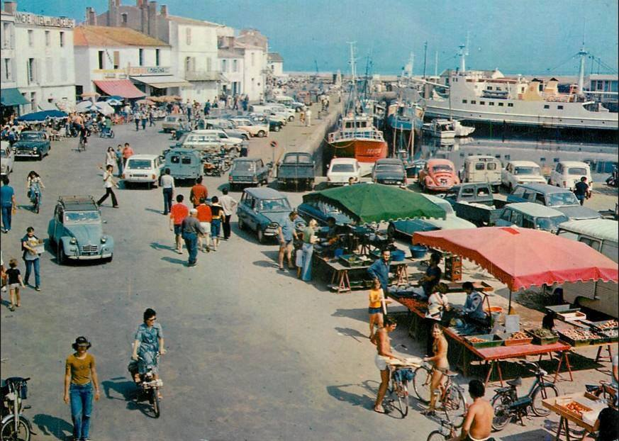 Rewind to le d yeu in the 1970s ran when parked for Garage renault ile d oleron