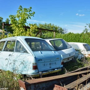 Rust in peace: Citroën Ami 8, Peugeot 204