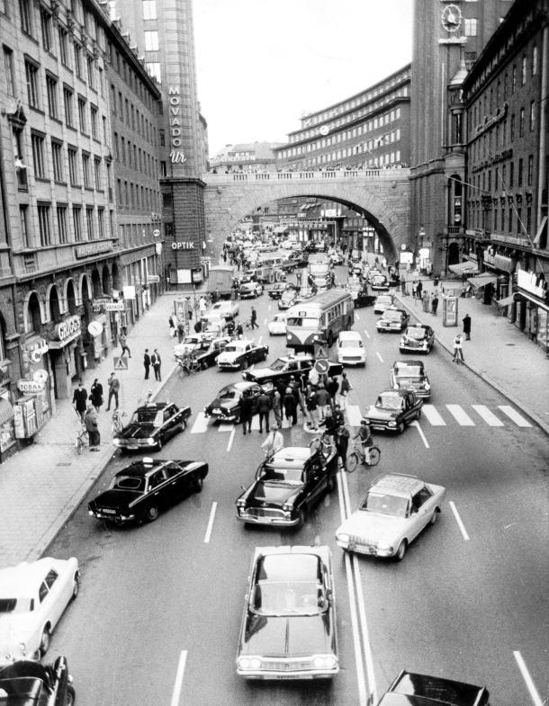 högertrafikomläggningen 1967