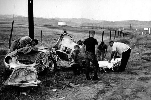 James Dean Porsche >> James Dean Porsche Wrecked 550 Spyder 1 Ran When Parked
