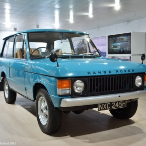 Live from the Frankfurt Motor Show: 1970 Land Rover Range Rover
