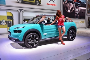 Live from the Frankfurt Motor Show: Citroën's Méhari-inspired Cactus Mconcept
