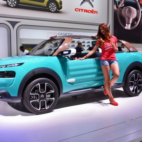 Live from the Frankfurt Motor Show: Citroën's Méhari-inspired Cactus M concept