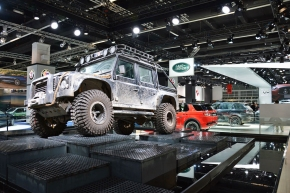 Live from the Frankfurt Motor Show: A farewell to the Land RoverDefender