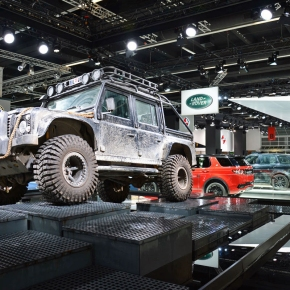 Live from the Frankfurt Motor Show: A farewell to the Land Rover Defender