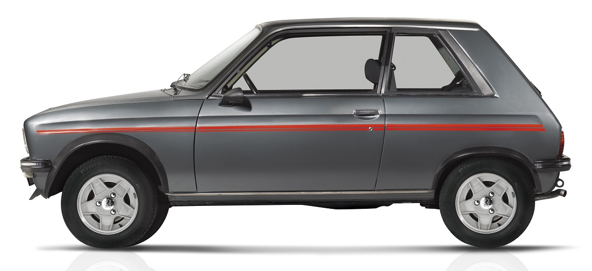 a look at the limited edition 1979 peugeot 104 zs 2 ran when parked. Black Bedroom Furniture Sets. Home Design Ideas