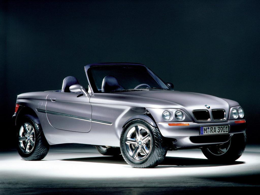 A Look At The 1995 Bmw Z18 Concept An Off Roader That S